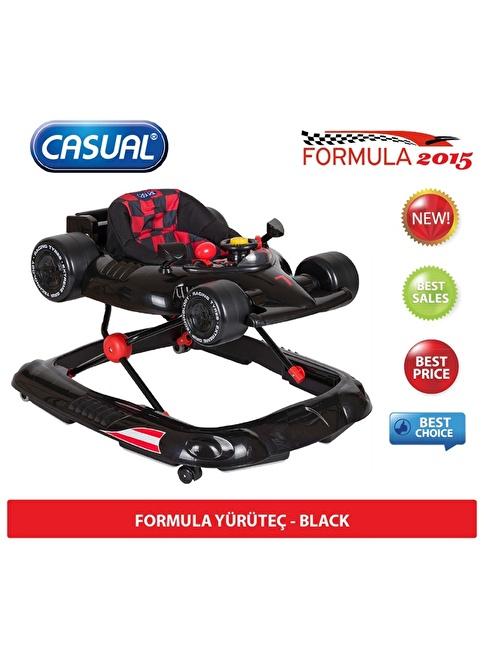 Casual Casual Formula Yürüteç Siyah